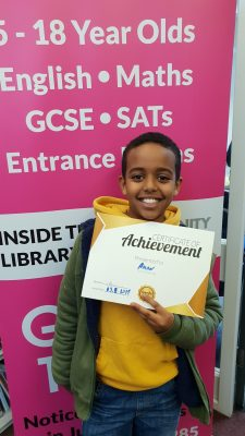 Congratulations to Aman for his progress at Genie Tutors Kings Heath! Well done!