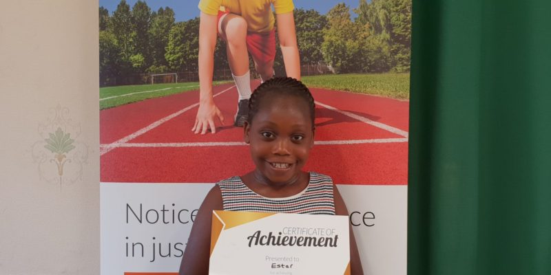 Congratulations to Esther at Genie Tutors Harborne! Welldone for your Gold reward, keep up the good work!