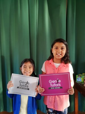 Congratulations to Chiara and Warasta for their new achievements at Genie Tutors Harborne! You worked so hard with your tutor Debbie, keep up the great progress!