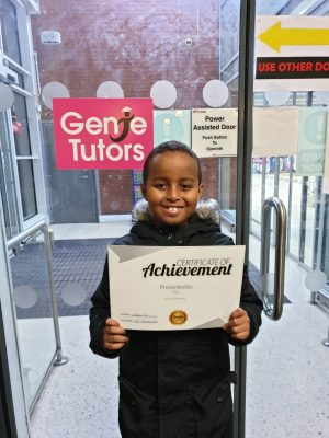Congratulation to Yahya on his achievement and great progress with his tutor Debbie at Genie Tutors Spring Hill.