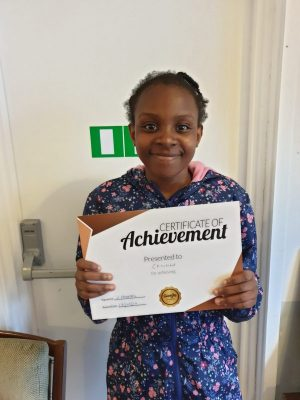 Congratulations to Christabel on her Bronze Reward. Great work with her tutors at Genie Tutors Edgbaston! Well done!