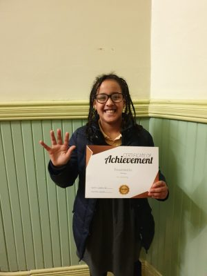 Congratulations to Mekhseb on her first reward! Keep up the good work with your tutor at Genie Tutors Spring Hill!