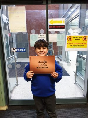 Congratulations to Waleed on his great progress with his tutors at Genie Tutors Spring Hill. Well done on your deserved Reward!