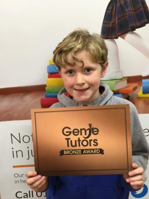George doing good work at Genie Tutors Bromsgrove