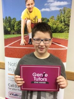 Congratulations to Daniel at Genie Tutors Redditch for achieving his Star Award. Keep up the great progress in both English and maths.