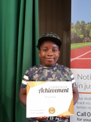 Congartulation to Josh for achieving his Gold award at Genie Tutors Harborne Keep up the super effort.