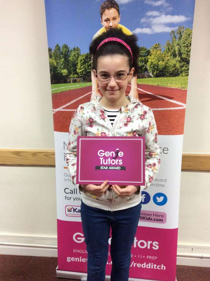 Maria at Genie Tutors Redditch