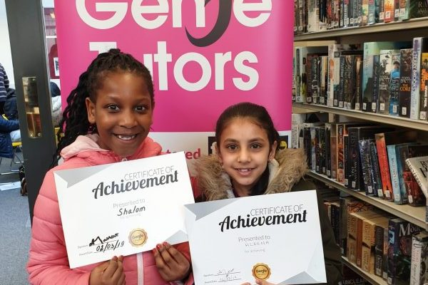 Well done to Sharom and Aleena on their Rewards! You worked hard at Genie Tutors King's Heath and your progress is recognised! Keep up the great work!